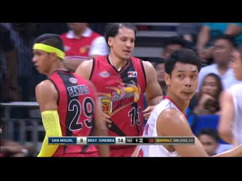 PBA Philippine Cup 2018 Semifinals Game 3: San Miguel Beer vs. Ginebra Mar. 13, 2018