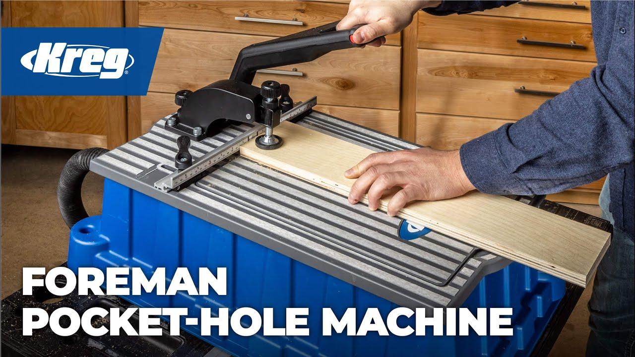 Kreg® Foreman Pocket-Hole Machine (Item# DB210)