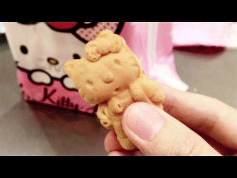 Baked Hello Kitty at Diver City Tokyo Plaza [iPhone 4S/HD]