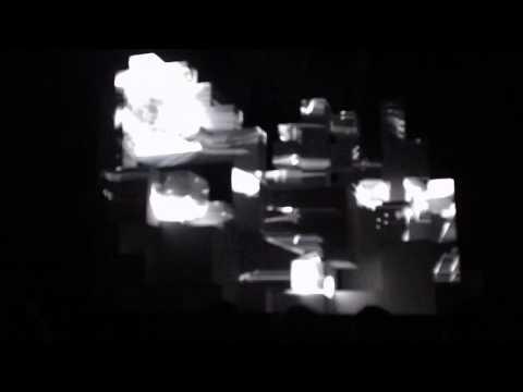 Amon Tobin ISAM Live Confetti at the Warfield San Francisco Sunday Show