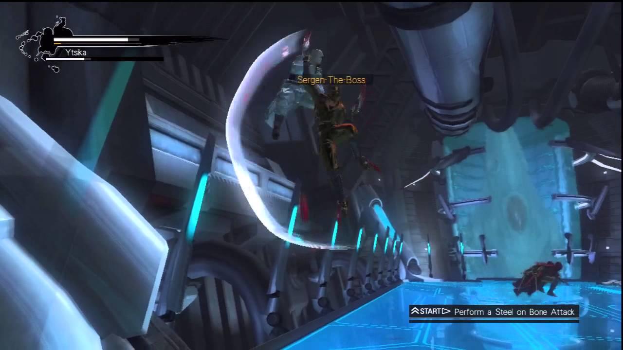 Ninja Gaiden 3 Ultimate Ninja 02 2x Claws Sergen The Boss Ytsika Youtube