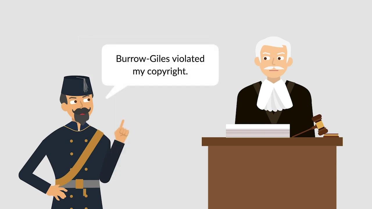 Burrow-giles lithographic co. v. sarony