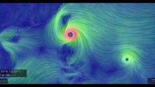 [Super Typhoon Meranti] Packing 185 MPH Winds,