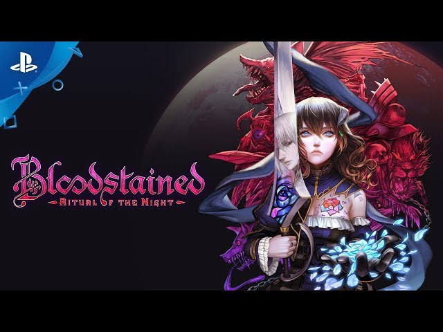 Bloodstained: Ritual of the Night - Release Window Announce Trailer | PS4