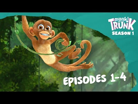 M&T Full Episodes 01-04 [Munki And Trunk]