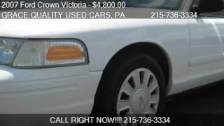2007 Ford Crown Victoria Police Interceptor - for sale in Mo