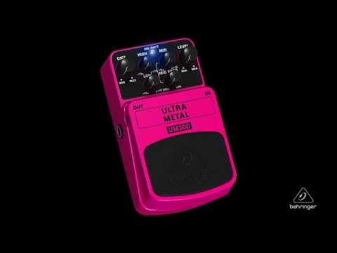 ULTRA METAL UM300 Heavy Metal Distortion Effects Pedal