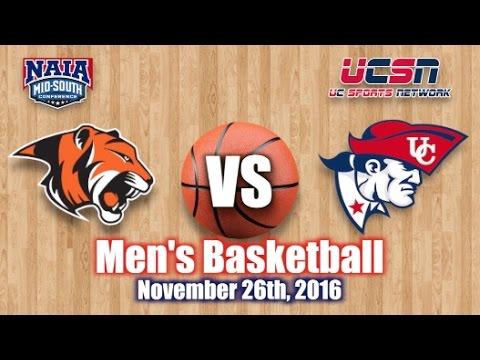 University of the Cumberlands - Men's Basketball vs. Georgetown College 2016-2017