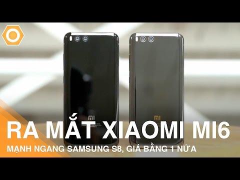 Xiaomi Mi6 ra mắt - Chip S835, Ram 6G mạnh ngang S8 giá chỉ bằng nửa