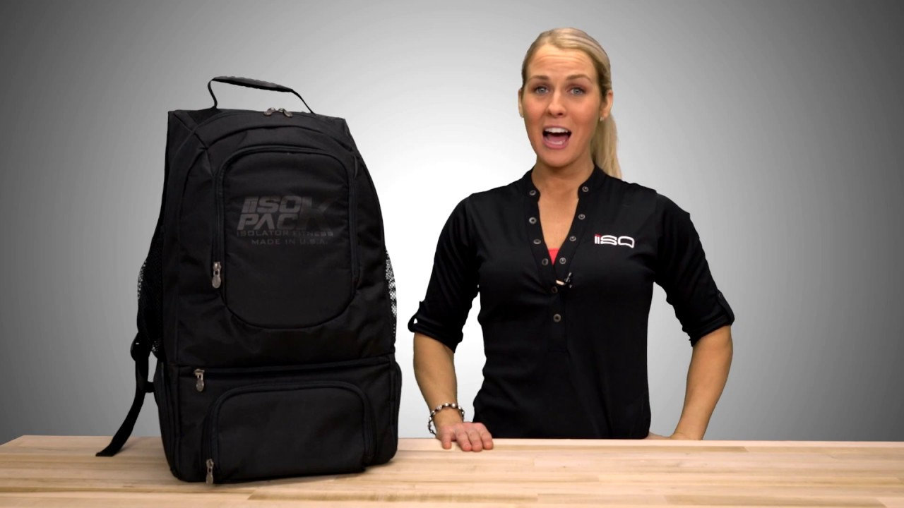 c39542308186 ISOPACK Blackout Meal Meal Management Backpack by Isolator Fitness ...