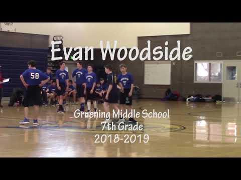 Evan Woodside Highlights (Offense) - Gruening Middle School 2018-2019