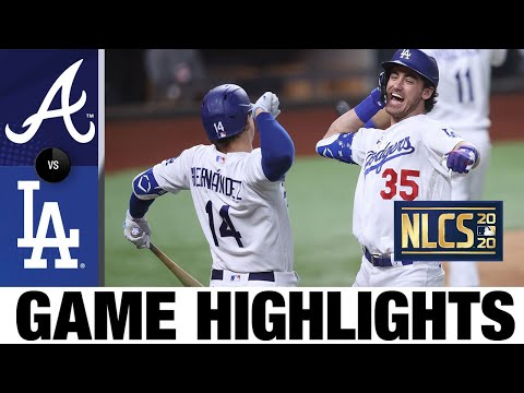 Bellinger hits go-ahead HR as Dodgers clinch World Series berth! | Braves-Dodgers Game 7 Highlights - Видео онлайн