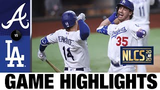 Bellinger hits go-ahead HR as Dodgers clinch World Series berth! | Braves-Dodgers Game 7 Highlights