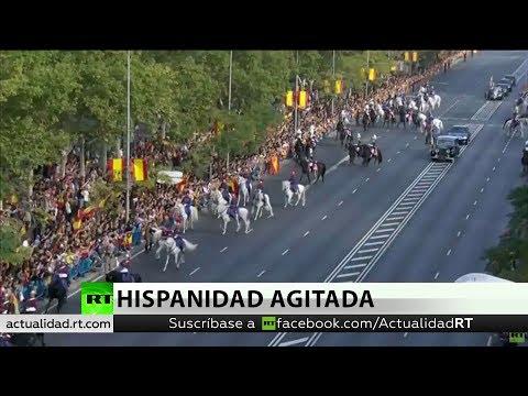 Día de la Hispanidad: Un desfile marcado por ausencias, críticas y burlas