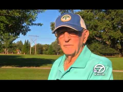 Ken Gill of Anderson celebrates his 100th birthday