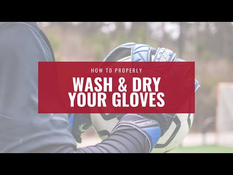 Renegade GK: How to Properly Wash & Dry Your Goalkeeper Gloves