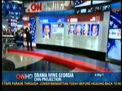 CNN 2008 Super Tuesday Coverage Part 2 - YouTube