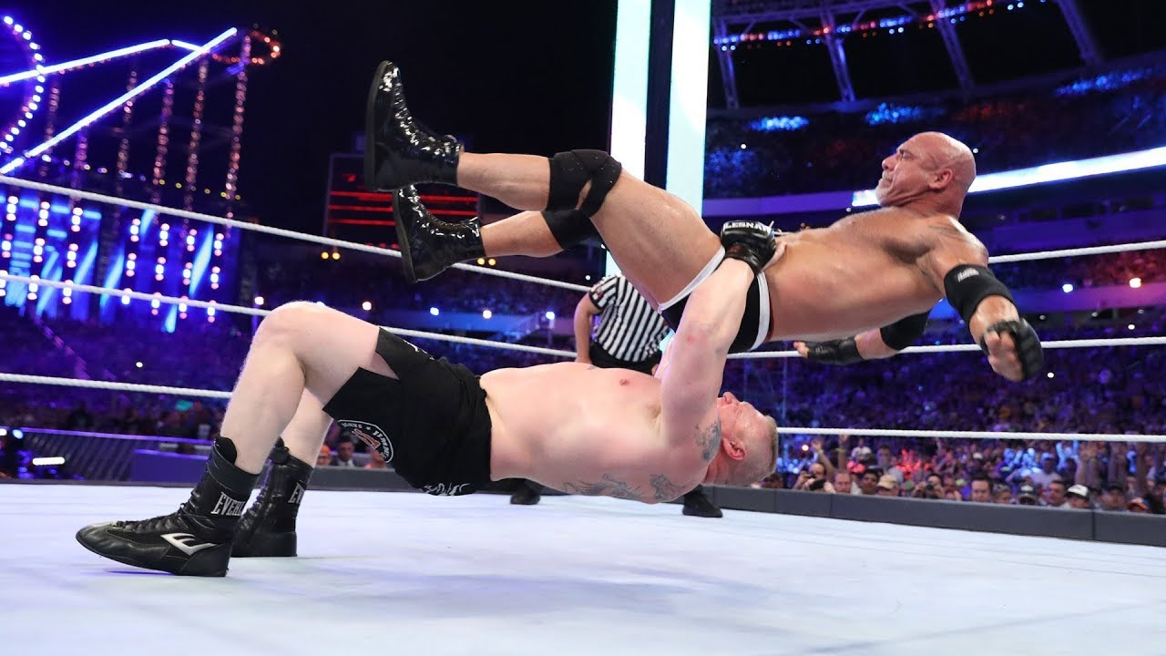 50 times Brock Lesnar took his opponents to Suplex City