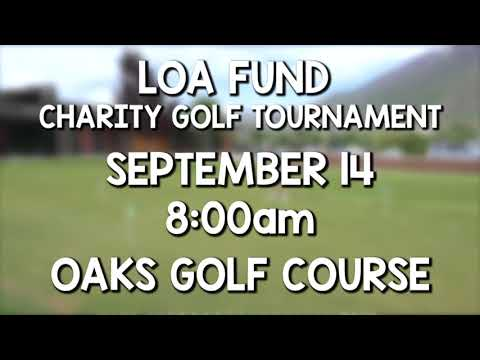 LOA Fund Charity Golf Tournament promo