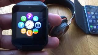 GT08 Smartwatch with Camera Supports SIM Card TF Card [Hands on Review and Test]