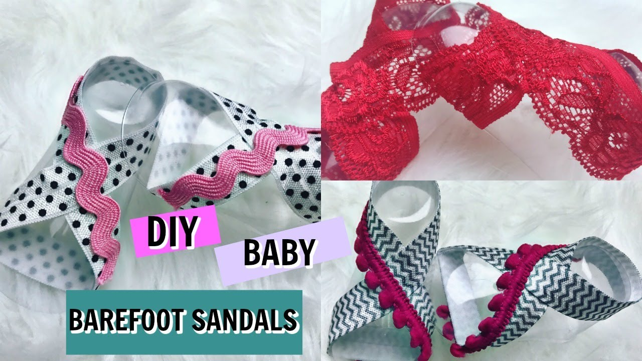 146db64d3f48 BABY BAREFOOT SANDALS STEP BY STEP TUTORIAL