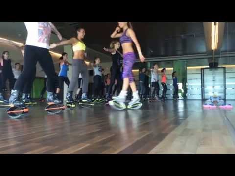 KANGOO JUMPS with ANDREEA PREDA @ TITAN FITNESS  CLUB