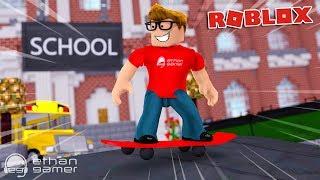 I SKIPPED SCHOOL TO GO THE SKATE PARK!