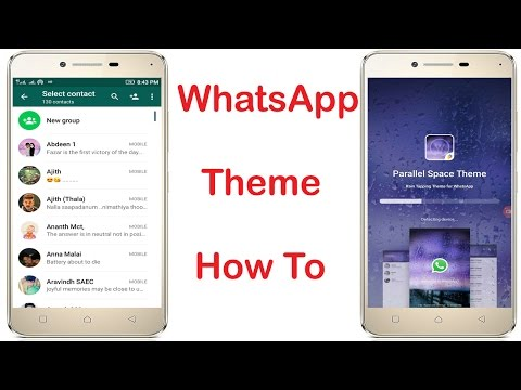How To Change Whatsapp Theme Colour On Android Without Root||No Root