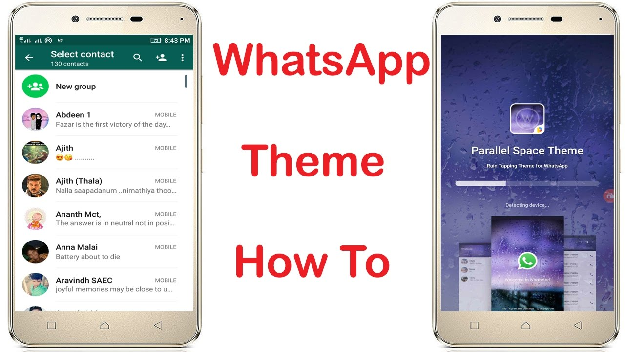 How to change Whatsapp Theme Colour on Android without ...