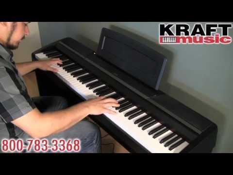 Kraft Music - Korg SP-170 Digital Piano Demo with Rich Formidoni