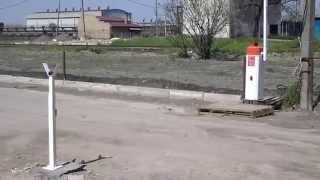 Автоматический шлагбаум. автоматизация въезда(, 2015-05-02T18:24:43.000Z)