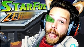 DO A BARREL ROLL! Star Fox Zero Gameplay Part 1