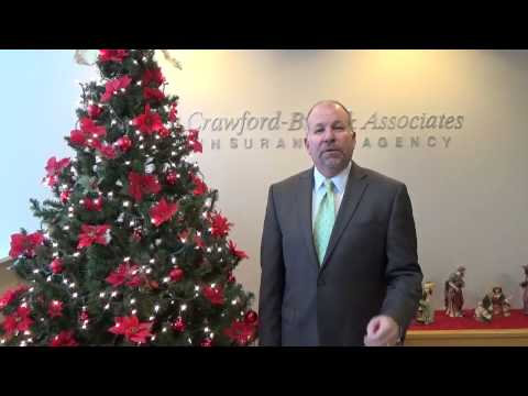 Merry Christmas from Crawford-Butz Insurance