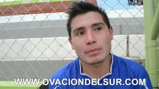 Airton Delgado jugador del Real Católica - Liga Distrital de Fútbol de Cayma - 08/03/2015