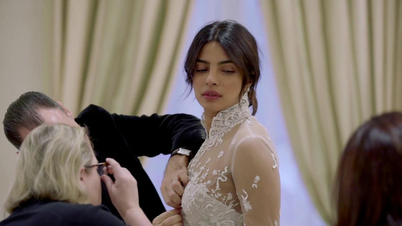 Ralph Lauren Priyanka Chopra S Custom Wedding Dress Youtube