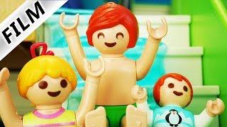 Playmobil Film deutsch | JULIANS WASSERRUTSCHE in der LUXUSVILLA bis in den POOL Serie Familie Vogel