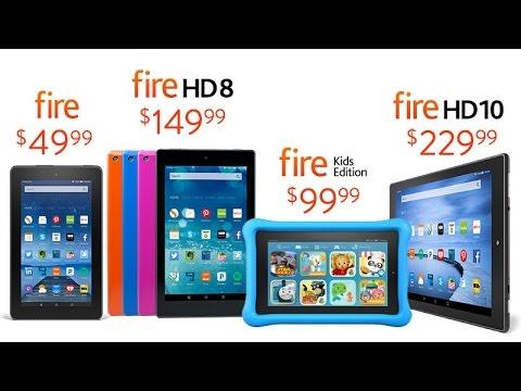 Amazon Fire $50 vs Fire HD 8 $ 150 Comparison