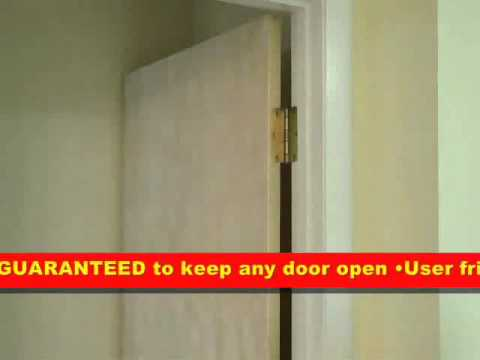 Door Chock - Firefighter Door Chock - Commercial Door Chock & Door Chock - Firefighter Door Chock - Commercial Door Chock - YouTube