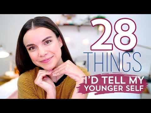 28 Things I'd Tell My Younger Self! Life Lessons | Ingrid Nilsen