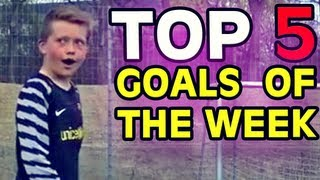 TOP 5 GOALS of the WEEK #64 2013 | Best YouTube Free Kicks & Shots