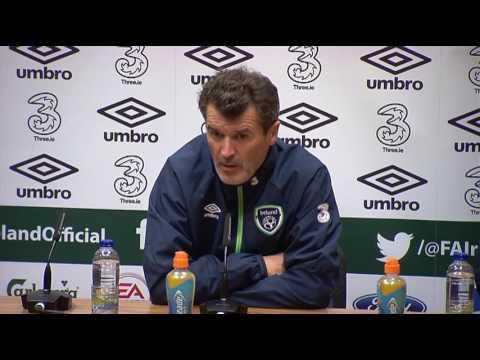 Republic of Ireland v Georgia - Pre Match Press Conference - Roy Keane (4/10/16)