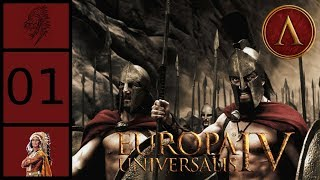 EU4 - Third Odyssey - Spartakon #1 - Cities of Dead & Gardens