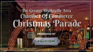 Greater Blytheville Area Chamber Of Commerce Christmas Parade 2019 Sky Cam