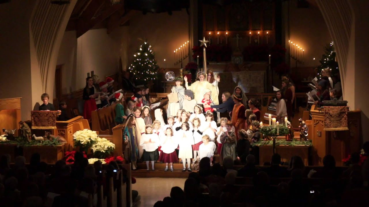 Venite Adoremus Dominum Sung By Combined Choirs On 12 24 13 Youtube