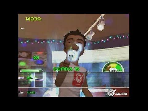 Karaoke Revolution Vol. 2 PlayStation 2 Gameplay - Rock