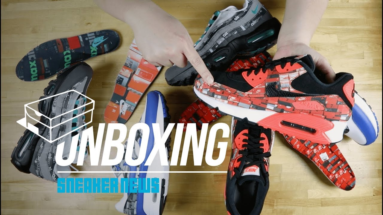 278940e75d Unboxing The atmos We Love Nike Air Max Pack - YouTube
