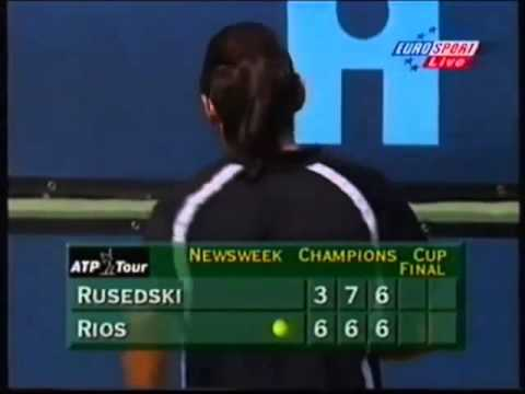 Marcelo Ríos - Greg Rusedski [Final Indian Wells 1998]