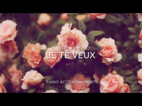 Je Te Veux (Piano Accompaniment)