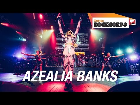 Azealia Banks - Venus (live @ Orange RockCorps Paris 2014)