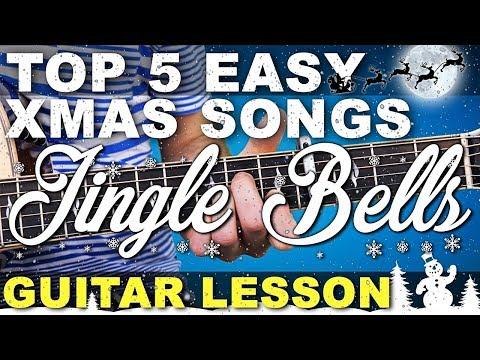 Learn | TOP 5 | EASY BEGINNERS | Christmas Songs | Jingle Bells + TAB